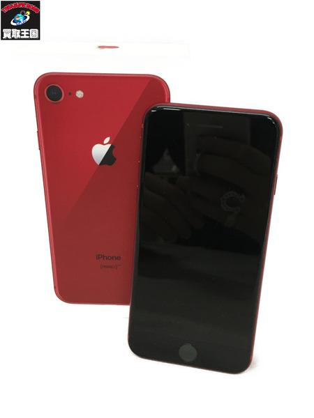 softbank iPhone8 64GB レッド【中古】