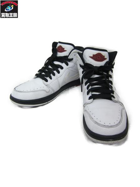 NIKE AIR JORDAN 1 RETRO '86 AJ2 White/Gym Red-Black【中古】