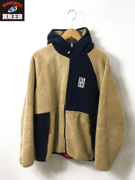STANDARD CALIFORNIA 18AW SD Classic Pile Hood Jacket L【中古】