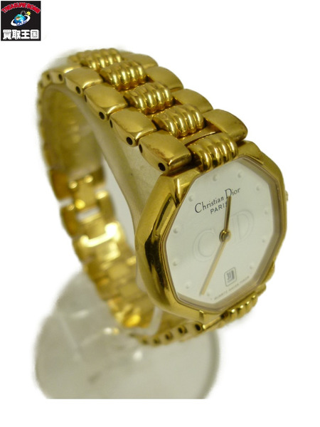 Christian Dior クリスチャンディオール 48.153 スイング クォーツ腕時計【中古】