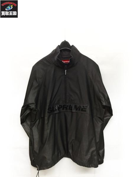 Supreme 17ss reflective harf zip pullover M シュプリーム ハーフジップパーカー【中古】