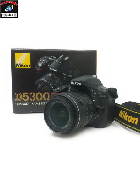 Nicon D5300 18-55? VR2 Kit ※欠品有り【中古】[値下]