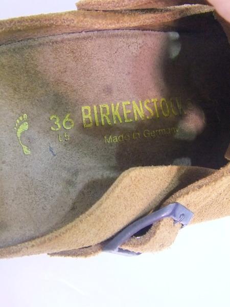 BIRKENSTOCK ボストン スエード 36LqpzUVGSM