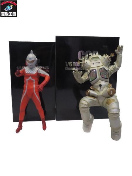 CCP 1/6 宇宙ロボット キングジョー対ウルトラセブン セット【中古】[▼]