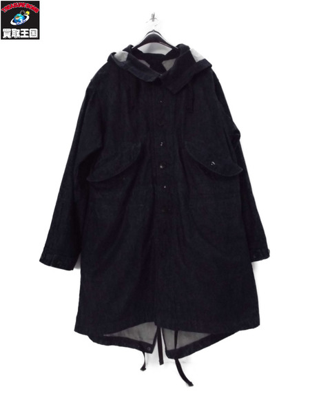Engineered Garments highland parka DENIM S【中古】