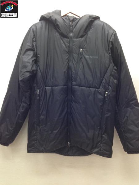 patagonia プリマロフト ダスパーカ 中綿ジャケット (S) ブラック【中古】