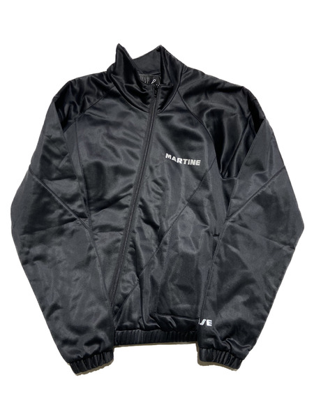 MARTINE ROSE/twisted drivers jacket/M/ブラック【中古】[▼]