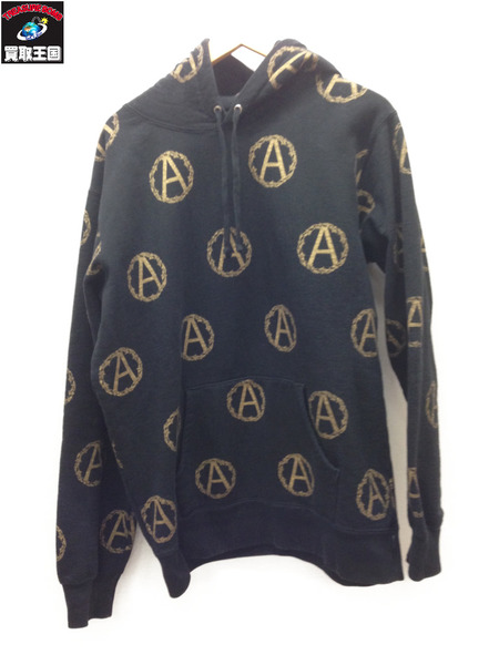 Supreme×UNDERCOVER 16AW Anarchy Hooded Sweatshirt (L) 黒【中古】