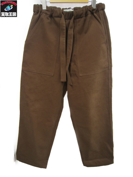 graphpaper 18aw Cotton Double Baker Pants ブラウン 1【中古】