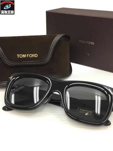 トムフォード TF558 wagner-02 サングラス 黒【中古】