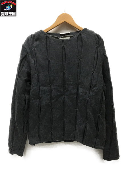 J.W.Anderson デザインスウェット SizeS GRY【中古】