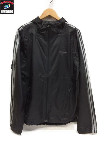 GYAKUSOU 16awパッカブルジャケット(L)黒【中古】