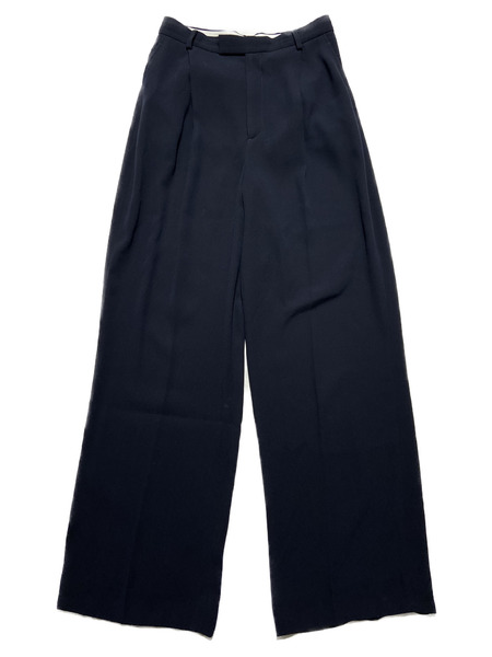 6 BEAUTY&YOUTH UNITED ARROWS/GEORGETTE HIGH WAIST PANTS/36【中古】[▼]