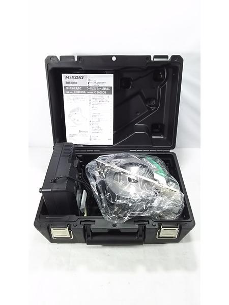 HiKOKI 36V(マルチボルト) 125mm際切りコードレスリフォーム用丸のこ C3605DB(XP) 未使用品【中古】