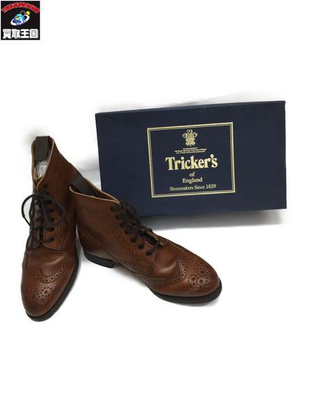 Tricker's カントリーブーツ ブラウン L7288 5H【中古】