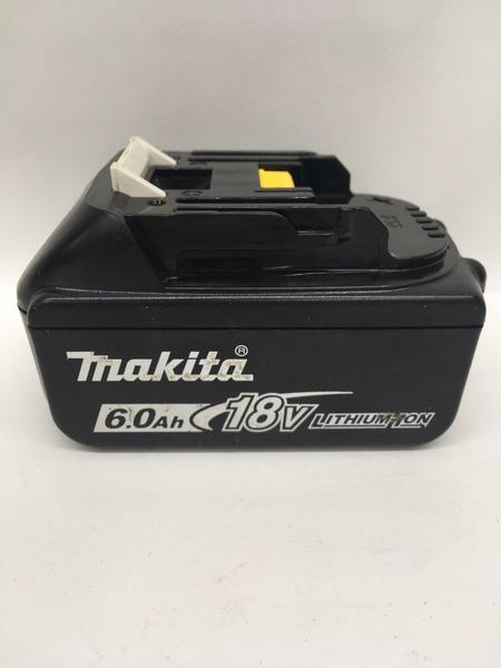 makita 18V 6.0Ah リチウムイオンバッテリ BL1860B【中古】