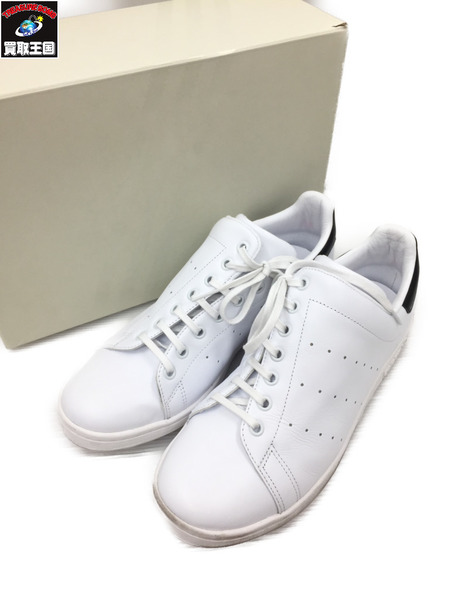adidas originals アディダス Y's DIAGONAL STAN SMITH (28.0) 白×黒【中古】[▼]