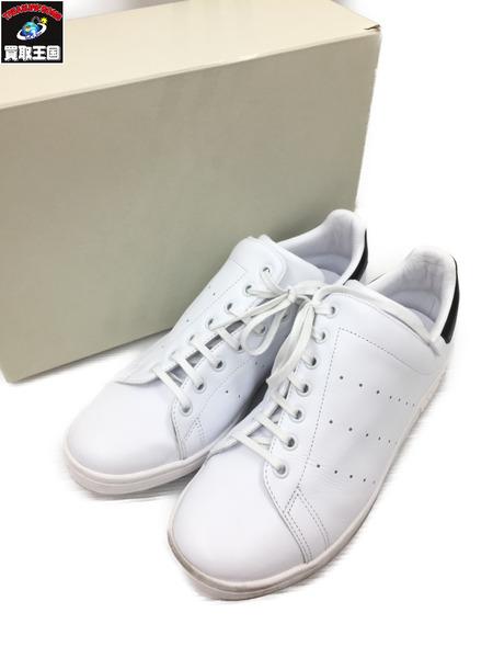adidas originals アディダス Y's DIAGONAL STAN SMITH (28.0) 白×黒【中古】[▼]