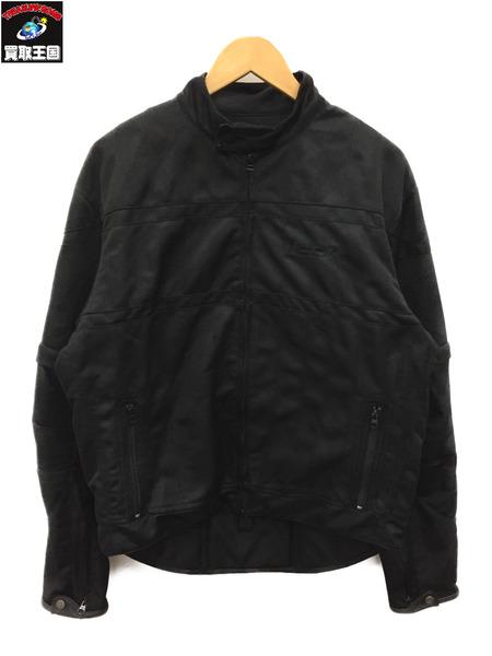 アイコン ICON パンチング レザー ジャケット (XL) 黒【中古】