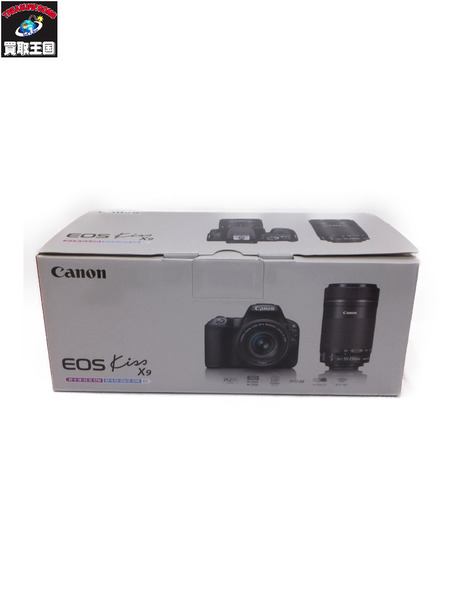 Canon EOS kiss X9 ダブルズームキット【中古】