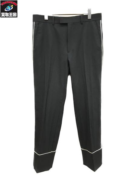 GUCCI/グッチ/70s Twill Stretch Formal Pant/ブラック/46【中古】