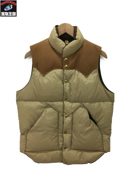Rocky Mountain FeatherBed/レザーヨーク/ダウンベスト【中古】