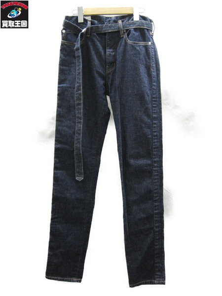 Sacai サカイ 8 Denim Pants デニム ベルトセット【中古】
