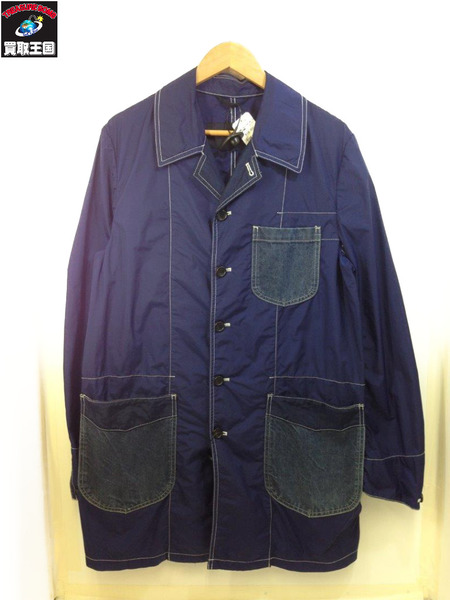 COMME des GARCONS HOMME HOMME デニムポケット ナイロンジャケット 【中古】