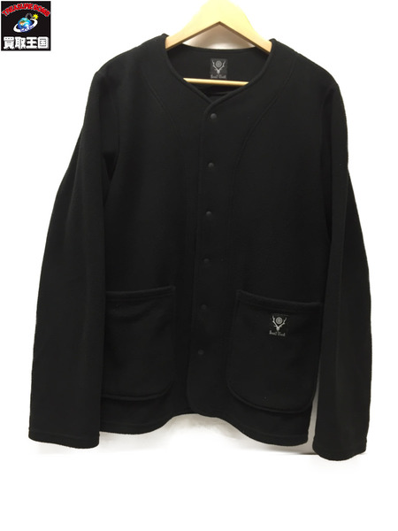 South2 West8 Cardigan - Polartec Classic Fleece SizeXS BLK【中古】