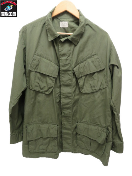 OLD US ARMY JUNGLE FATIGUE JACKET 5TH TYPE S 【中古】
