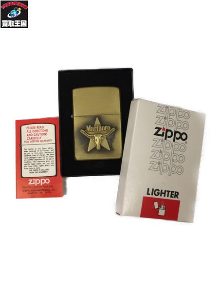 ZIPPO Marlboro 80年製 スター ロングホーン【中古】