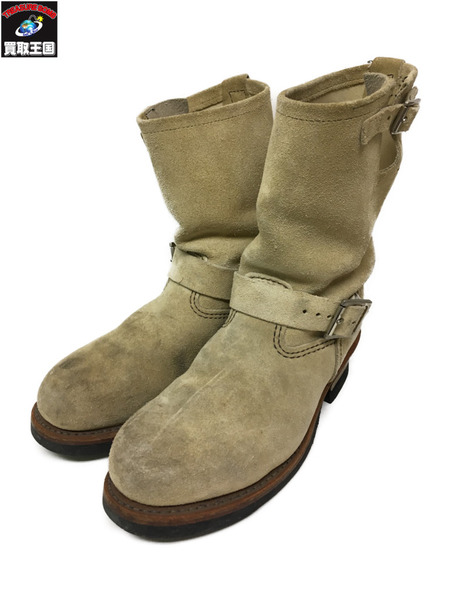 RED WING/8268/ENGINEER BOOTS/スエード/サイズ8【中古】