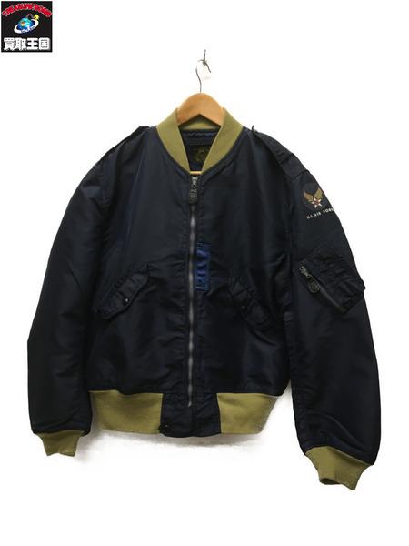 Buzz Rickson's L-2A フライトジャケット/ネイビー/44【中古】