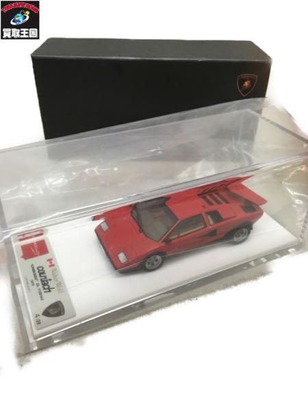 アイドロン メイクアップ 1/43 ランボルギーニ LP400/500S 1979 Walter Wolf SOISSOR DOORS【中古】