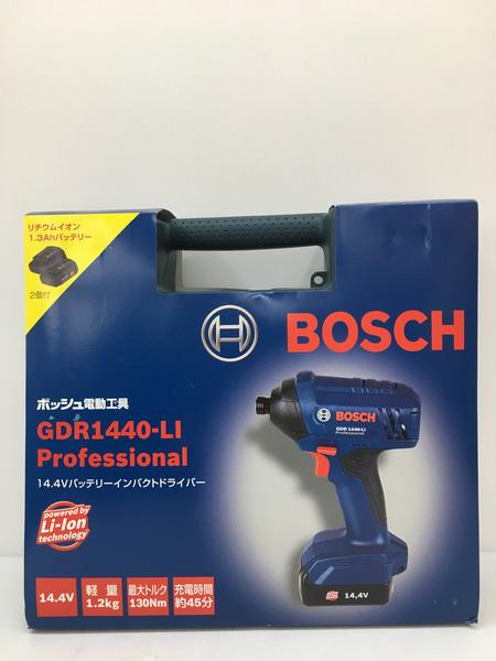 BOSCH インパクトドライバー+ライト特別セット 【中古】