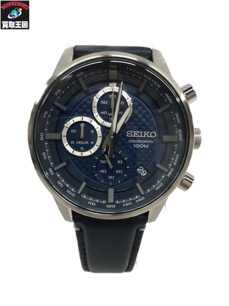 SEIKO クロノグラフ 腕時計 SSB333P1【中古】