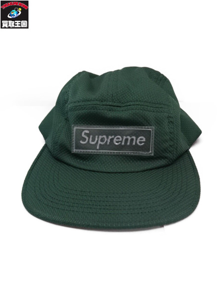 Supreme ナイロンキャンプキャップ 緑【中古】