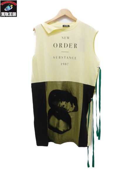 RAF SIMONS 18SS Sleeveless Long T-shirts スリーブレス Tシャツ M【中古】[値下]