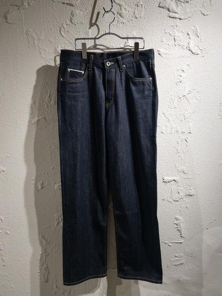 DIGAWEL 4/STRAIGHT DENIM PANTS/2/インディゴ【中古】[▼]