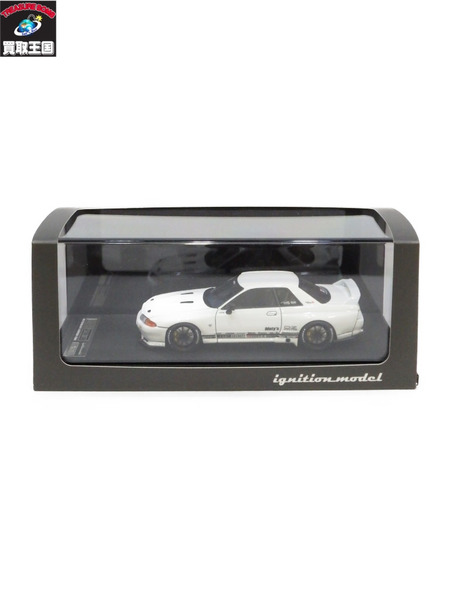 イグニッションモデル 1/43 トップシークレット GT-R VR32 ホワイト【中古】