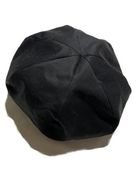 KAIKO/コットンベレー帽/ブラック【中古】