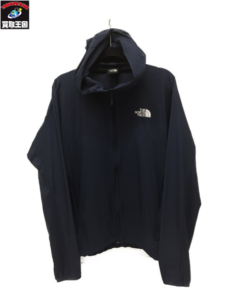 THE NORTH FACE ノースフェイス SWALLOWTAIL HOODIE NP71520 L 紺【中古】