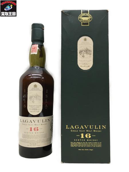 LAGAVULIN/16年/スコッチウイスキー/750ml/ホワイトホース表記【中古】