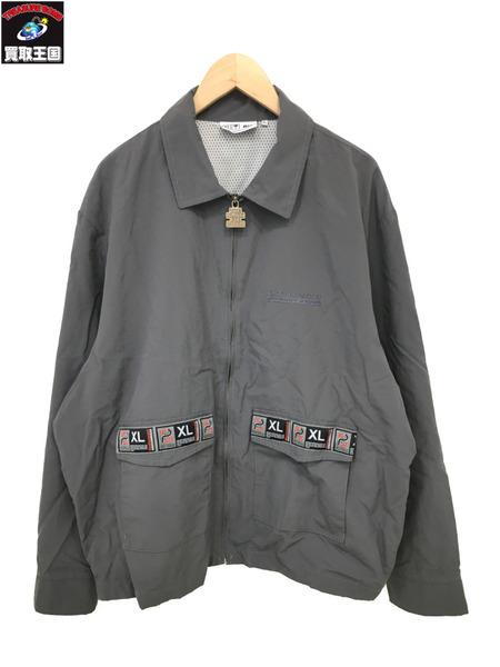 BLACK EYE PATCH ブラックアイパッチ 19SS TAPED BLOUSON (XL) 灰【中古】[▼]