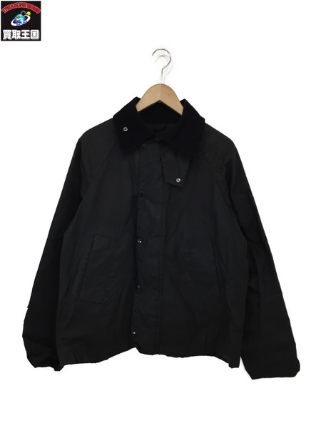 Barbour×Engineered Garments 18AW GRAHAM MAX JACKET (S) 黒【中古】[▼]