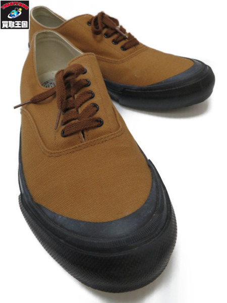 REAL McCOYS USN COTTON CANVAS DECK SHOES ローカットスニーカー (26.5)【中古】