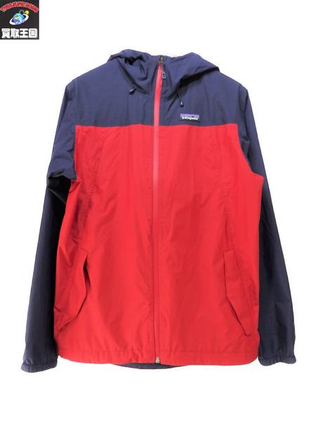 patagonia Rannerdale Jacket XS パタゴニア 赤/青【中古】
