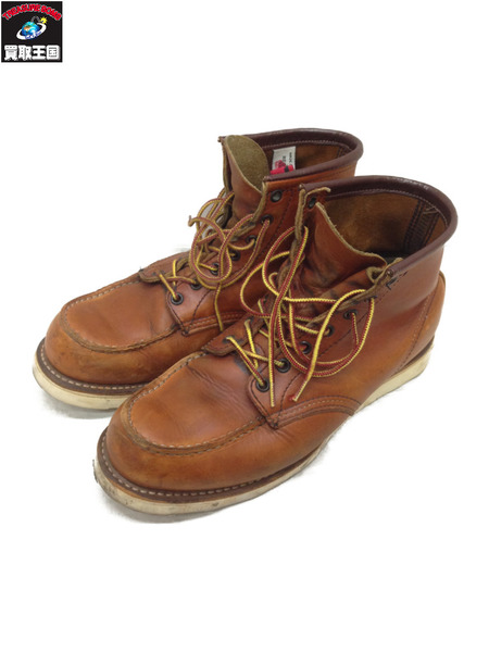 RED WING 875/モックトゥブーツ/茶/26.0cm【中古】[▼]