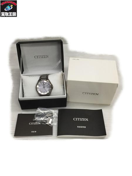 CITIZEN アテッサ/CB3010-57A/電波ソーラー/エコドライブ【中古】