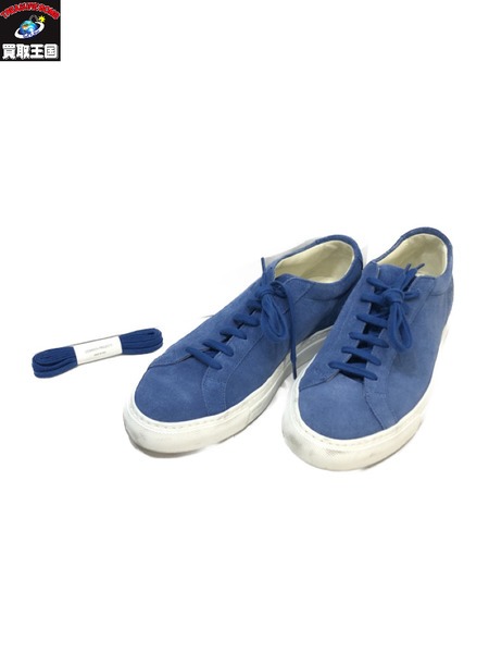 COMMON PROJECTS ACHILLES LOW 25cm  SIZE 39 青 コモン・プロジェクツ【中古】